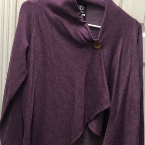 One button asymmetrical cardigan from Nordstrom